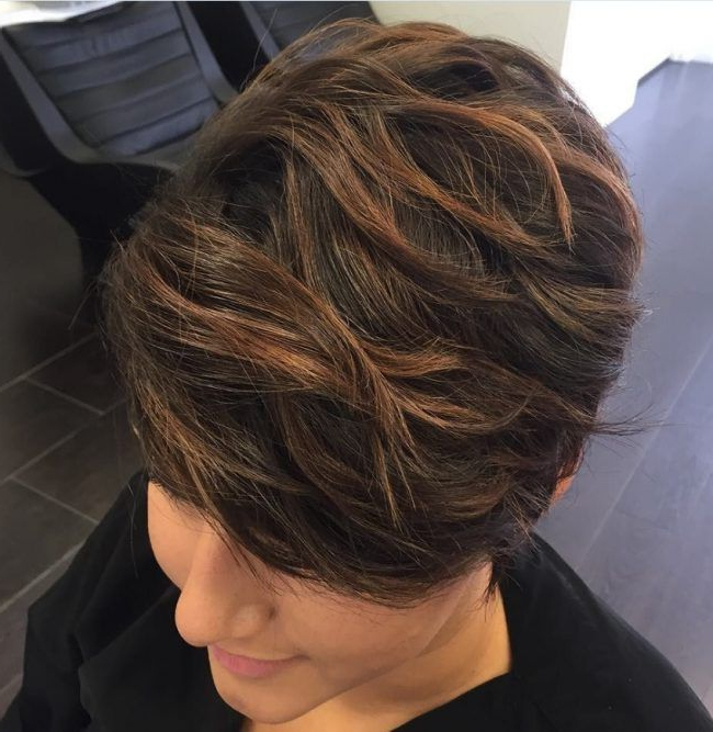 Sun Kissed Pixie Cut   Hair In 2018   Pinterest   Hair, Short Hair Intended For Stacked Blonde Balayage Pixie Hairstyles For Brunettes (View 17 of 25)