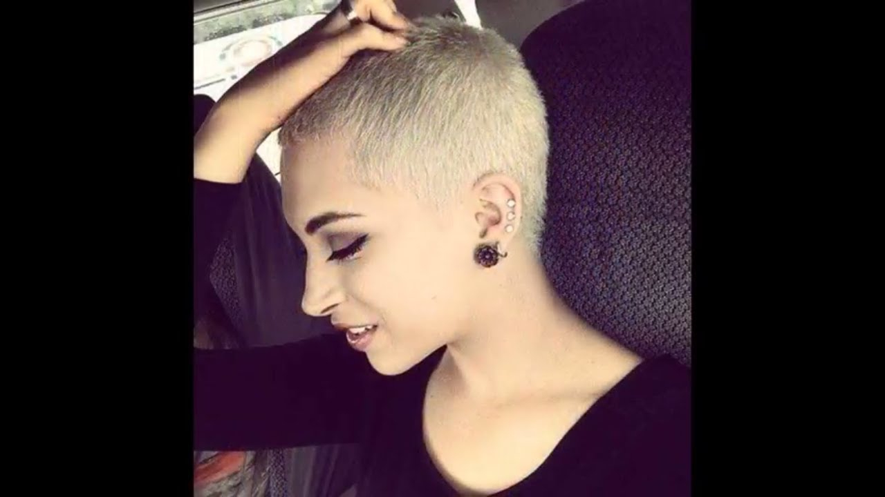 Super Short Hair Cut Women 2017 – Youtube With Regard To Super Short Haircuts For Girls (View 6 of 25)