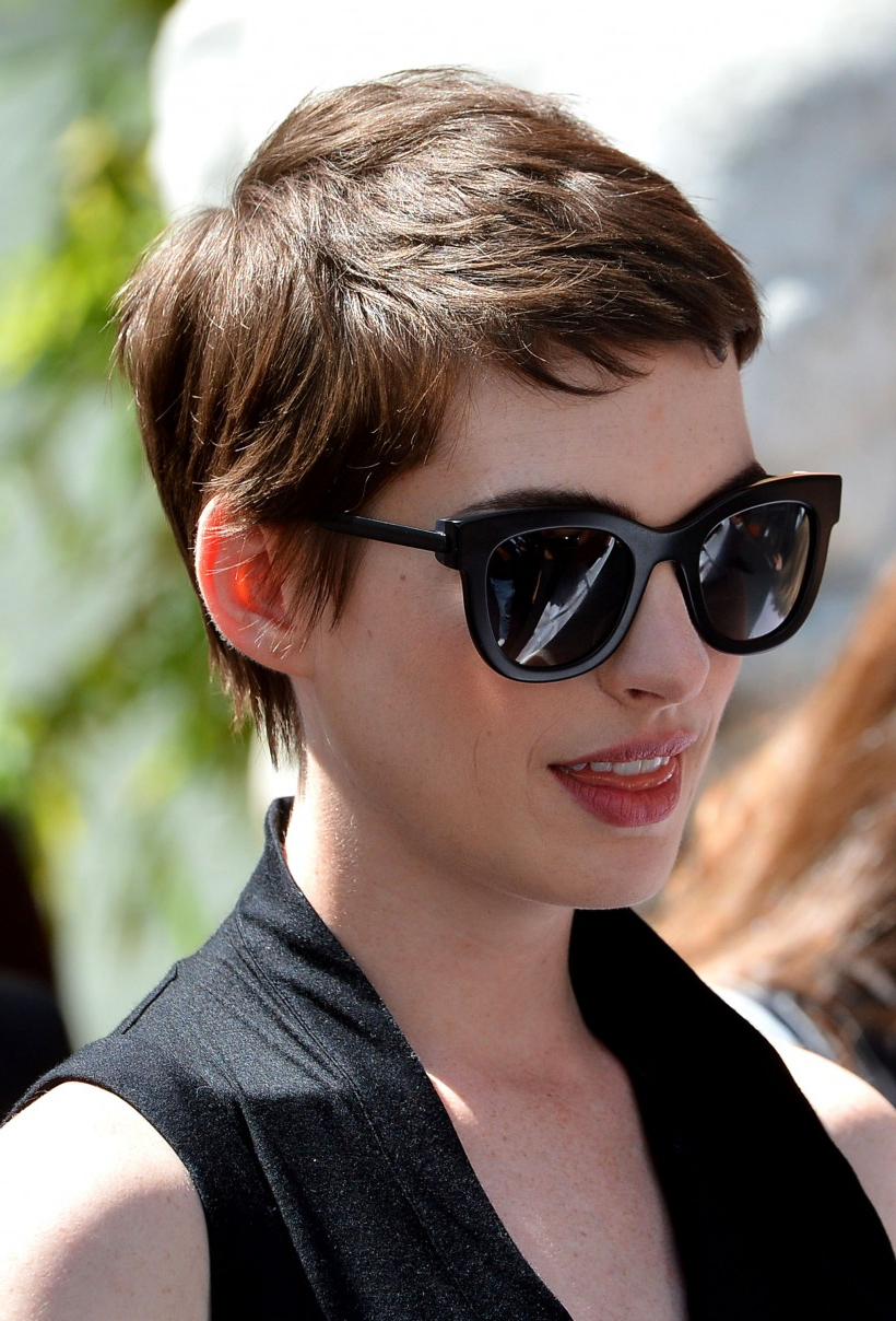 Super Short Hair For Women | Cool Hairstyles Throughout Short Hairstyles For Round Faces And Glasses (View 13 of 25)
