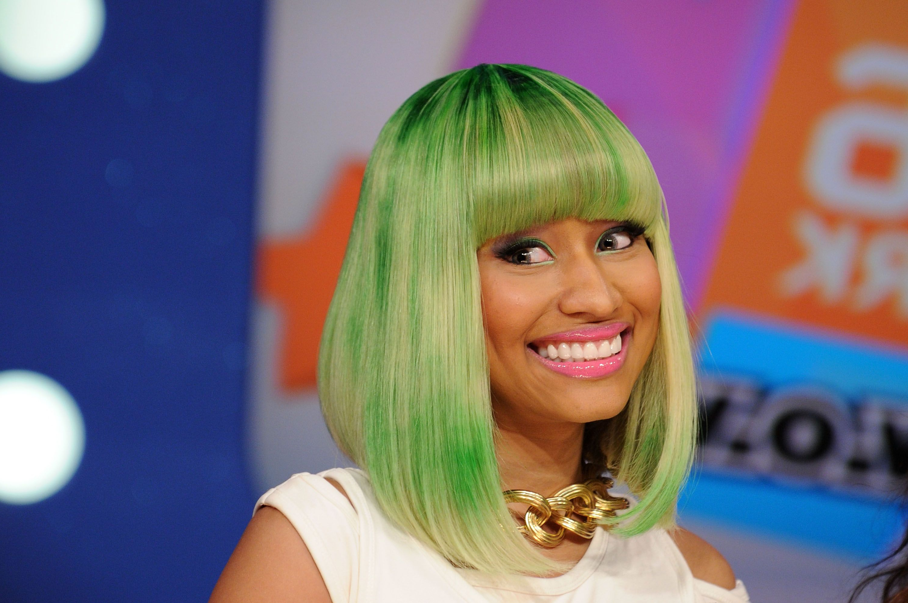 Superb Nicki Minaj Bang Hairstyle Alwaysdc Pertaining To Nicki Minaj Short Haircuts (View 5 of 25)