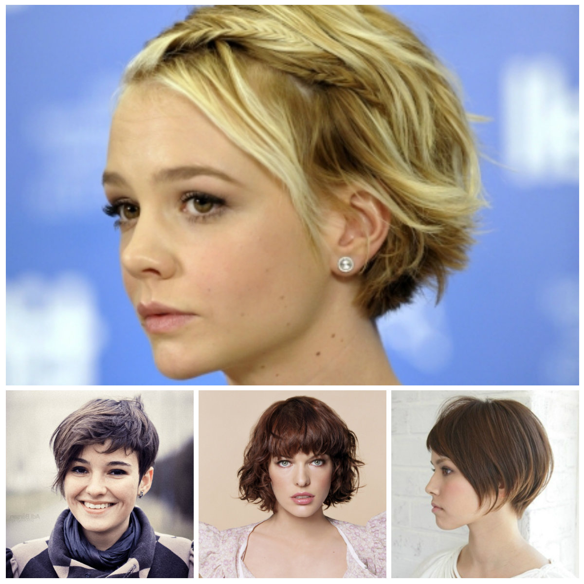 Sweetest Short Hairstyles For Teens – Best Hairstyle Models With Short Hair Cuts For Teenage Girls (View 4 of 25)