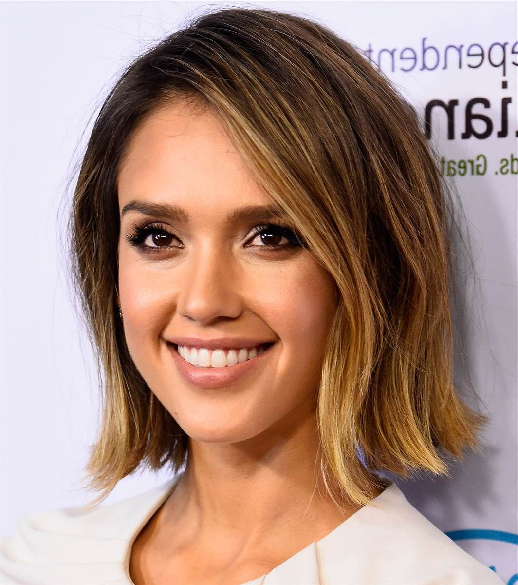 Taylor Swift Turns Her Bob Into A Shag — See The New Haircut With Regard To Jessica Alba Short Hairstyles (View 21 of 25)