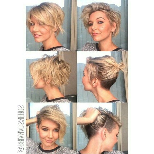 Texture. Undercut. Bob. Pixie (View 21 of 25)