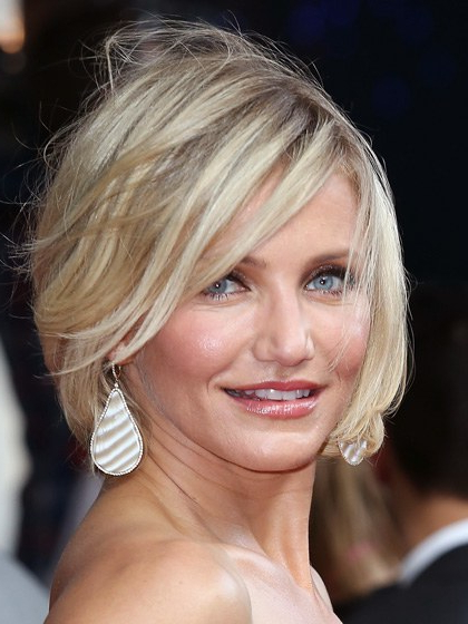 The 13 Best Celebrity Cuts Right Now – Allure With Razored Pixie Bob Haircuts With Irregular Layers (View 17 of 25)