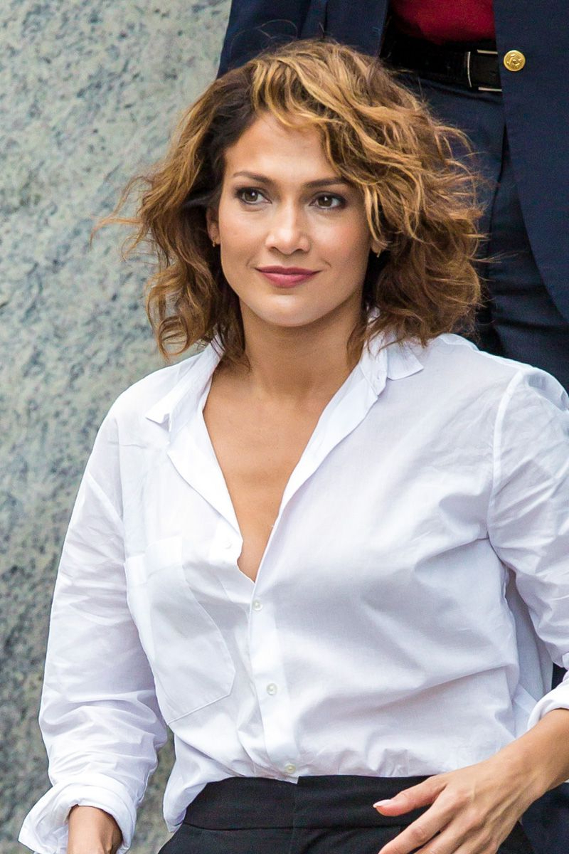 The 24 Best Haircuts For Women Over 30 | Curly Hair | Pinterest inside Jennifer Lopez Short Haircuts