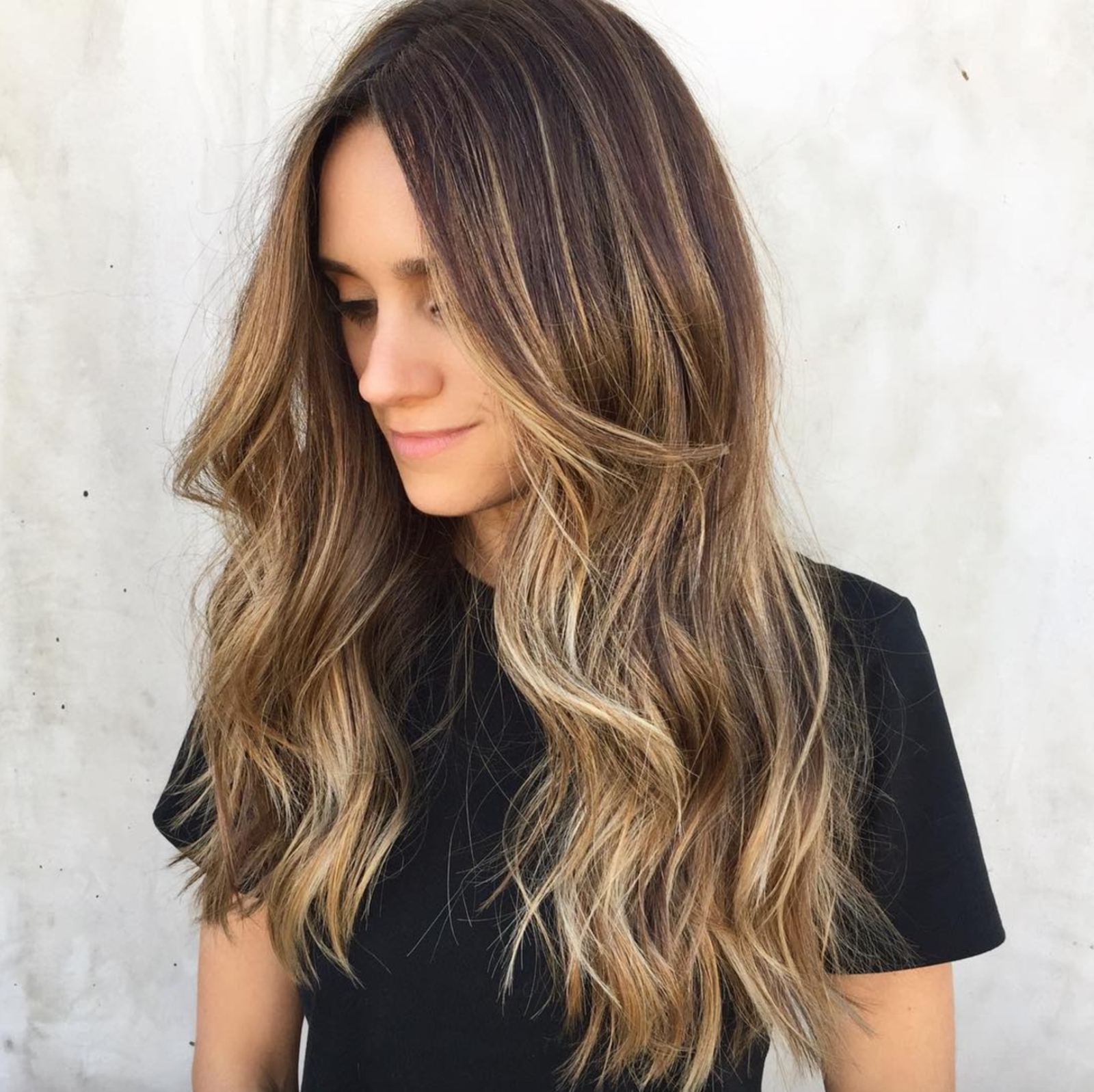 The 33 Best Balayage Ideas For Every Hair Color And Texture – Glamour For Curly Dark Brown Bob Hairstyles With Partial Balayage (View 20 of 25)