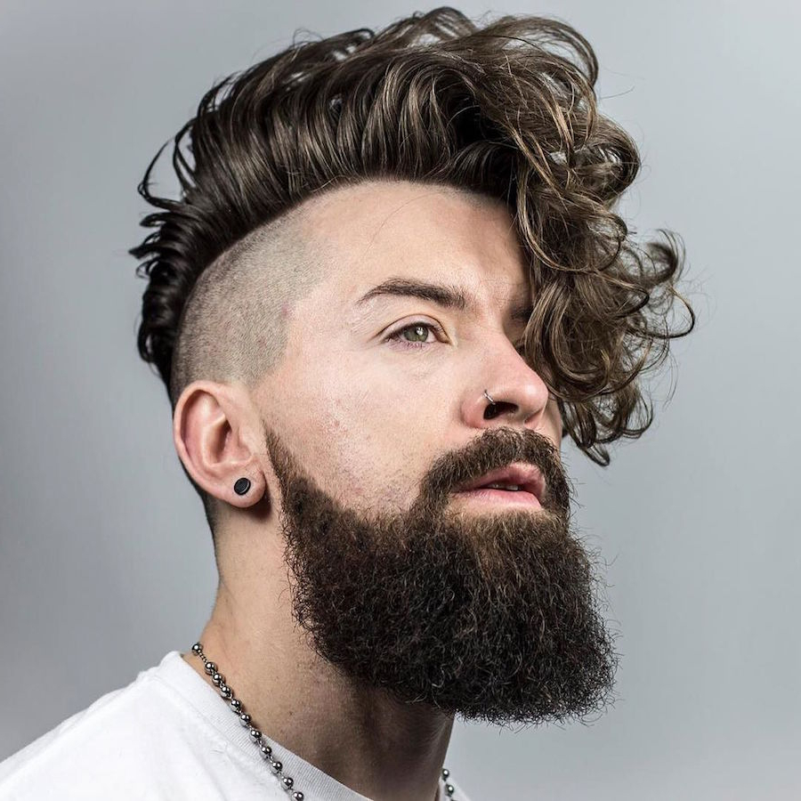 The 50 Best Curly Hair Men's Haircuts + Hairstyles Of 2018 In Undercut Hairstyles For Curly Hair (View 2 of 25)