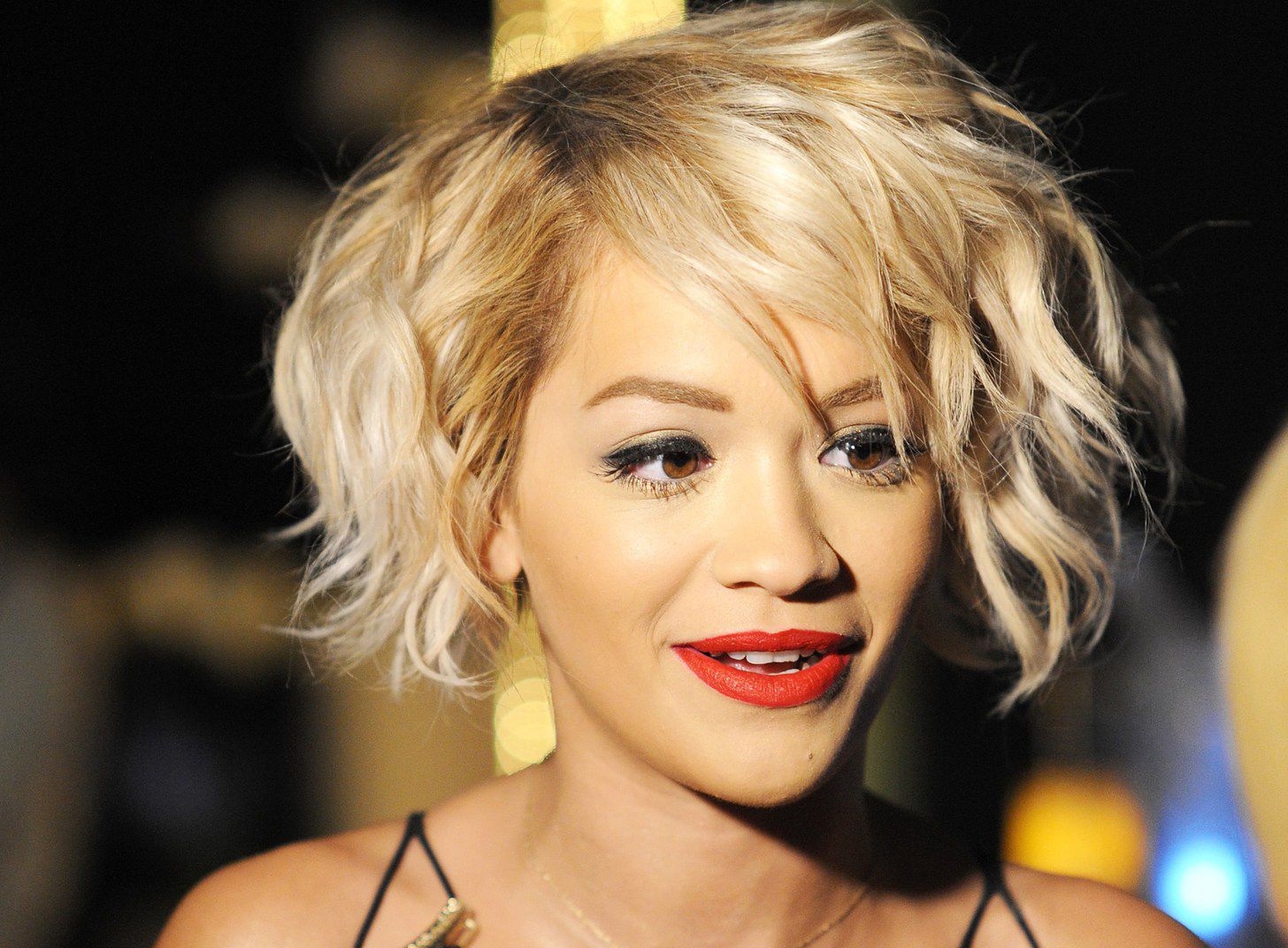 The 80 Most Beautiful African American Short Hairstyles – Hairstyle Inside Strawberry Blonde Short Hairstyles (View 25 of 25)