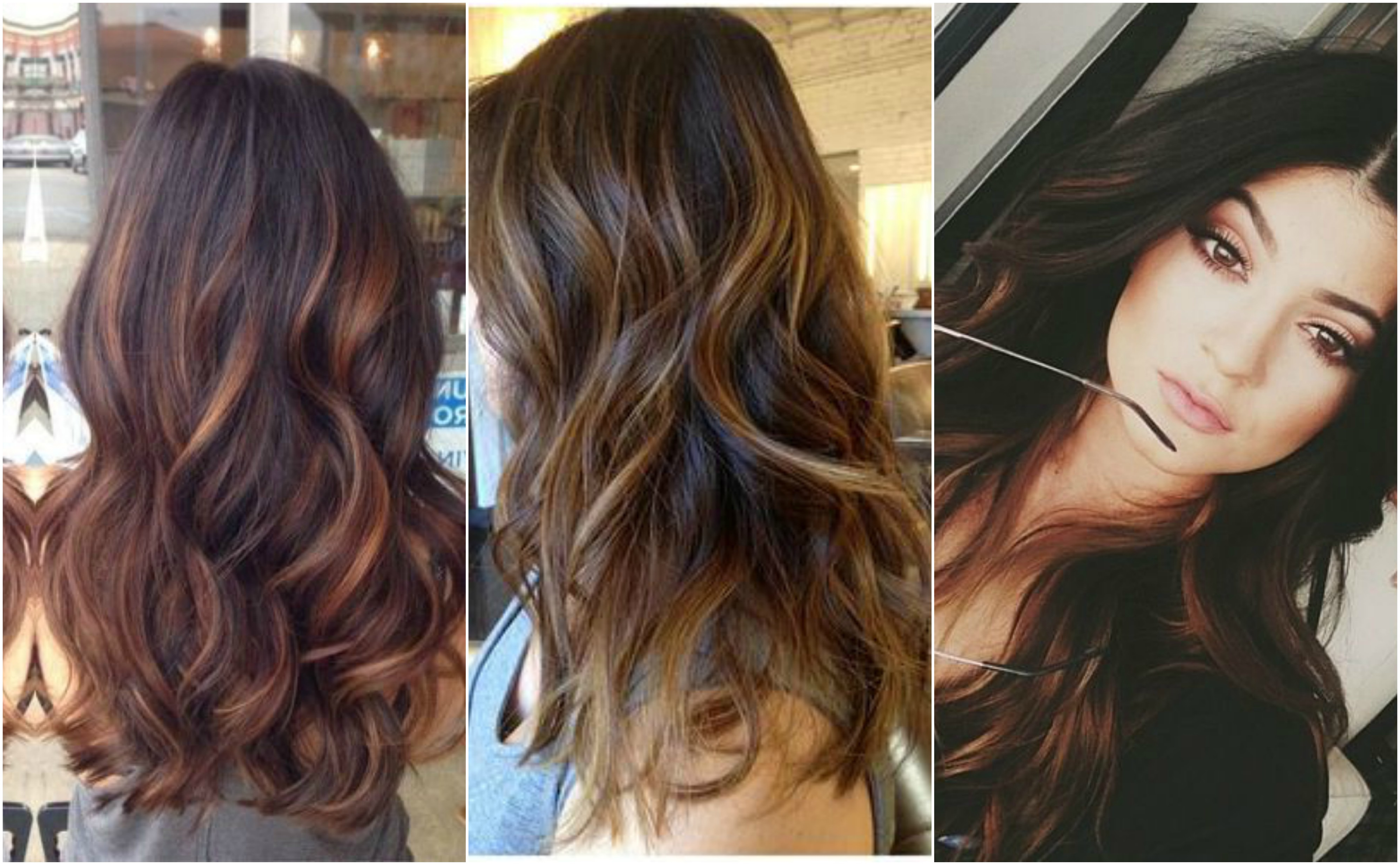 The 9 Best Ways To Highlight Your Hair Using The Balayage Technique In Brown Curly Hairstyles With Highlights (View 13 of 25)