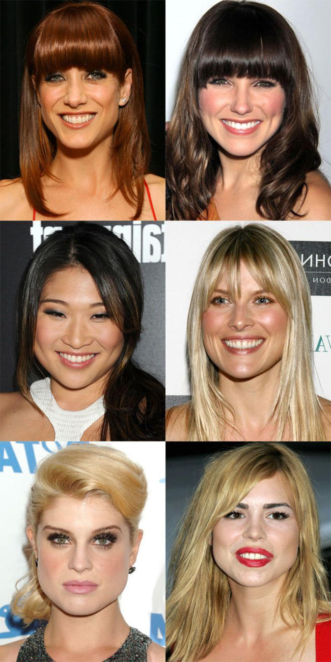 The Best (And Worst) Bangs For Pear Shaped Faces   Beautyeditor With Short Hairstyles For Pear Shaped Faces (View 4 of 25)