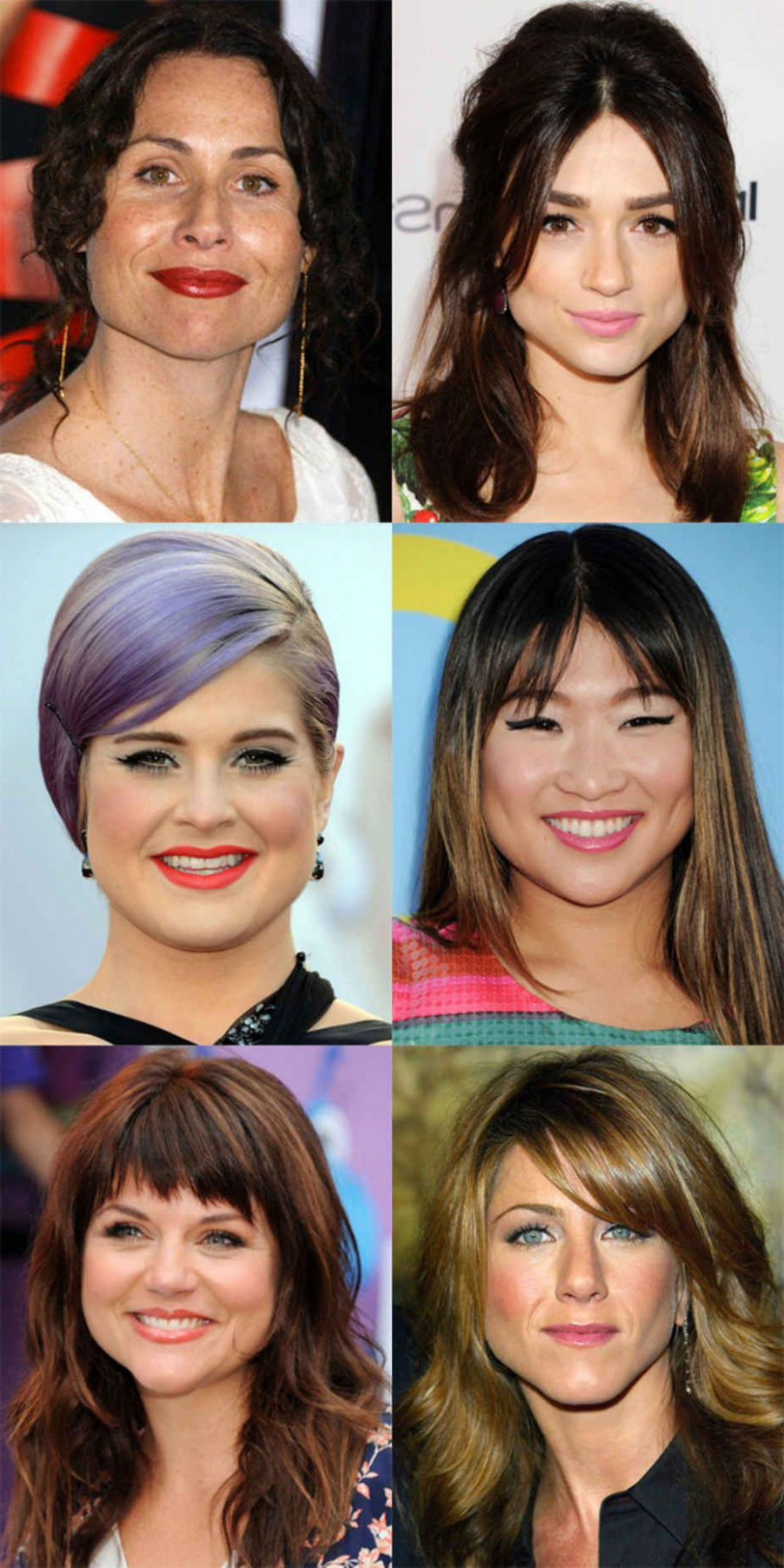 The Best (And Worst) Bangs For Pear Shaped Faces   Hair   Pinterest Pertaining To Short Hairstyles For Pear Shaped Faces (View 5 of 25)