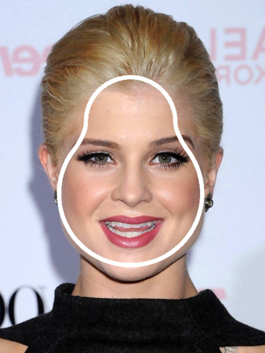 The Best Bob For A Pear Shaped Face – Hair World Magazine Regarding Kelly Osbourne Short Haircuts (View 8 of 25)