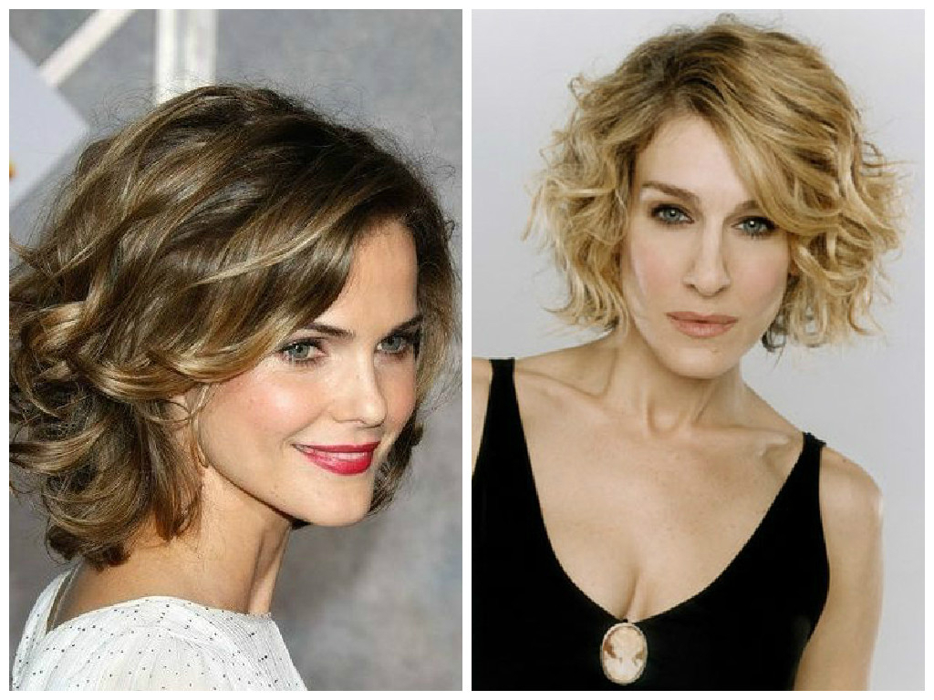 The Best Bob Haircut For Curly Hair – Hair World Magazine Pertaining To Angled Brunette Bob Hairstyles With Messy Curls (View 19 of 25)