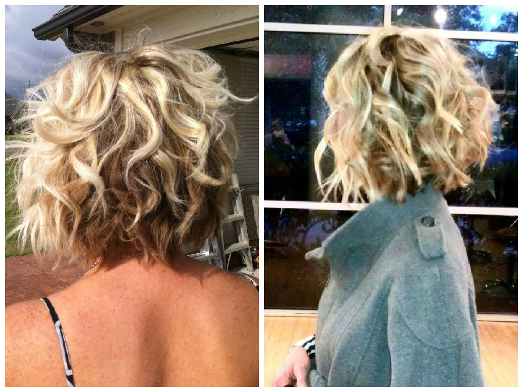 The Best Bob Haircut For Curly Hair – Hair World Magazine Throughout Inverted Brunette Bob Hairstyles With Messy Curls (View 21 of 25)