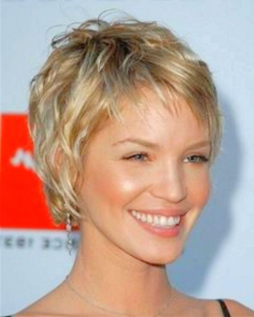The Best Cuts For Fine Curly Hair And A High Forehead Frisur For Within Short Haircuts For High Foreheads (View 12 of 25)