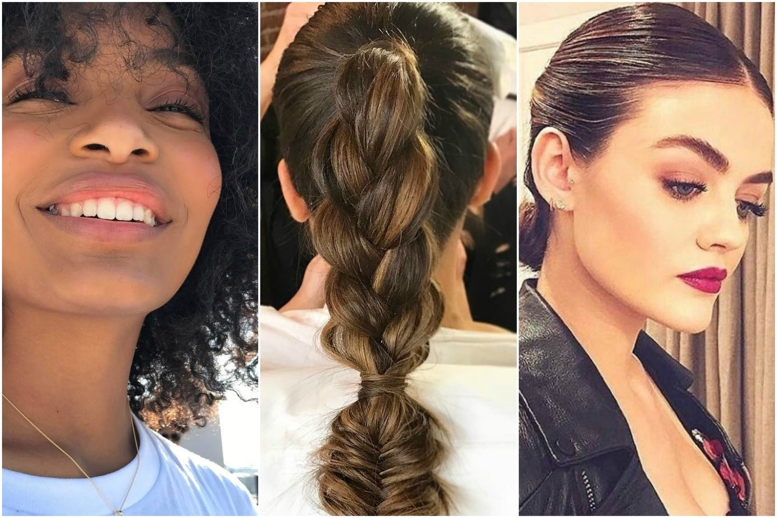The Best Graduation Hairstyles That Won't Give You Cap Hair – Teen Vogue Regarding Graduation Cap Hairstyles For Short Hair (View 17 of 25)