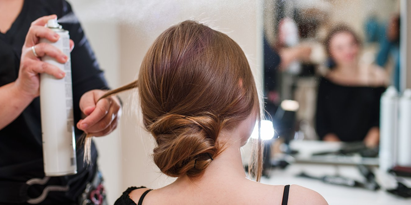 The Best Hair Spray Under $25 – Business Insider Throughout Inverted Brunette Bob Hairstyles With Messy Curls (View 22 of 25)