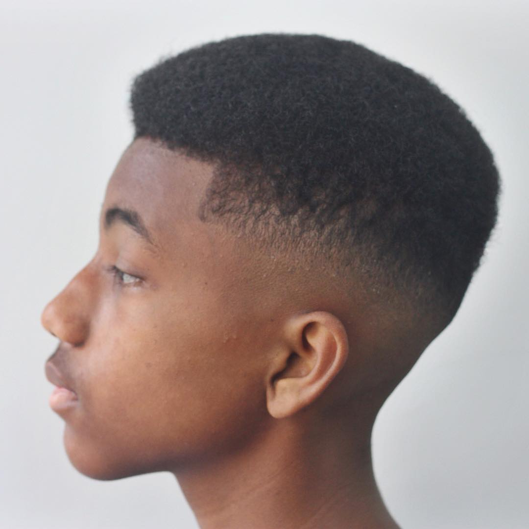 The Best Haircuts For Black Boys For Short Haircuts For Kinky Hair (View 17 of 25)
