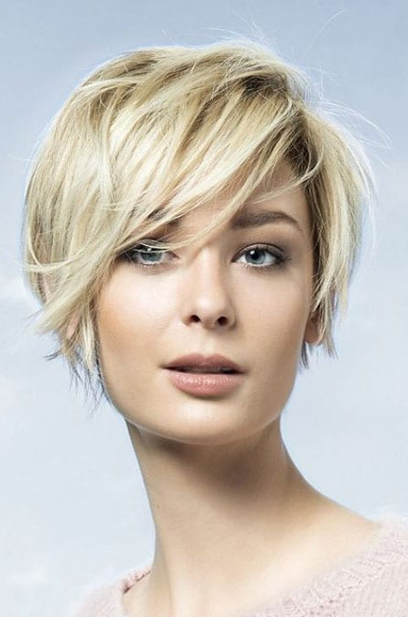 The Best Hairstyles For Women With Thin Hair – The Trend Spotter Regarding Choppy Tousled Bob Haircuts For Fine Hair (View 24 of 25)