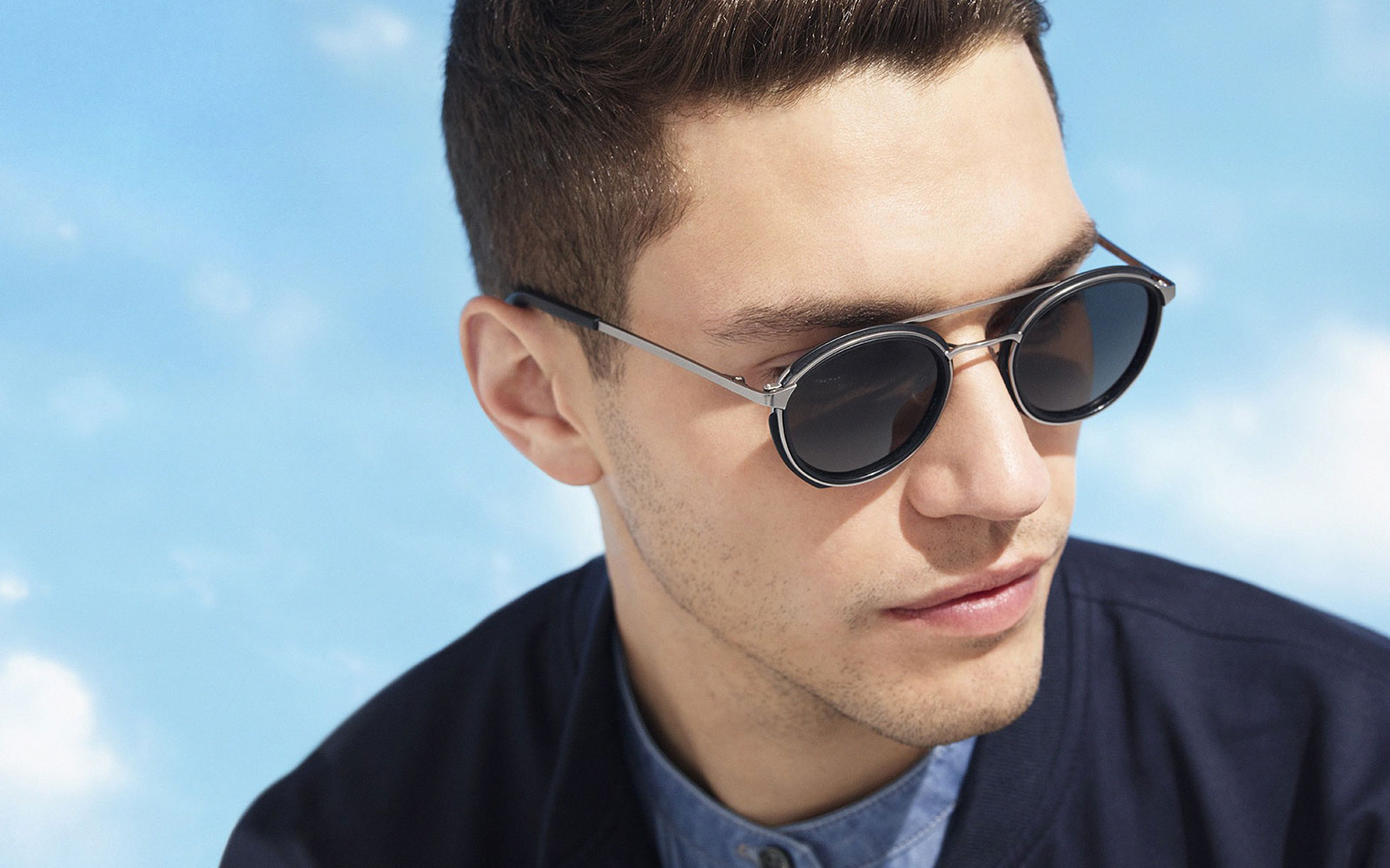 The Best Men's Sunglasses For Your Face Shape – The Gentlemanual | A Intended For Short Hairstyles For Big Cheeks (View 13 of 25)
