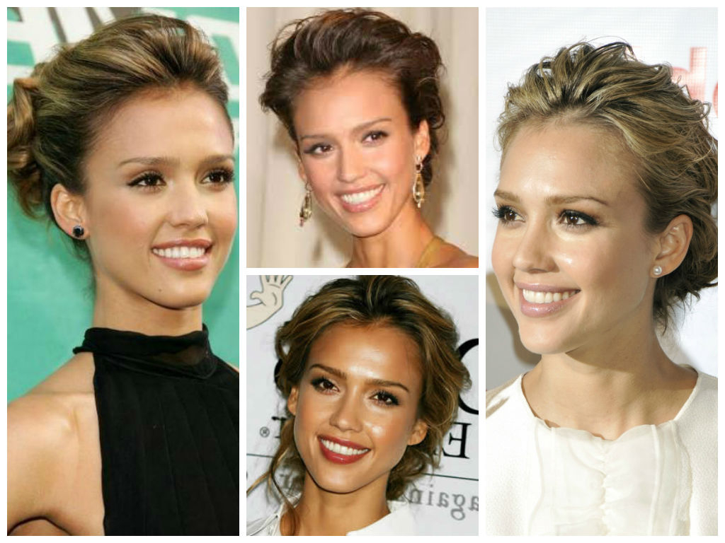 The Best Of Jessica Alba Hairstyles – Hair World Magazine In Jessica Alba Short Haircuts (View 9 of 25)
