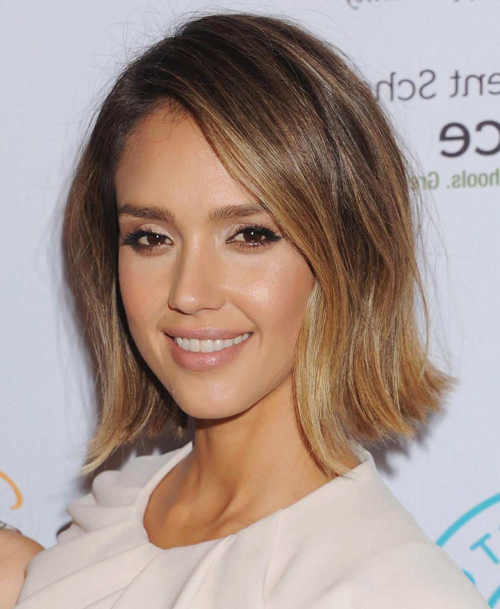 The Best Short Haircuts For Your Face Shape – Verily Regarding Short Haircuts For Square Jawline (View 20 of 25)