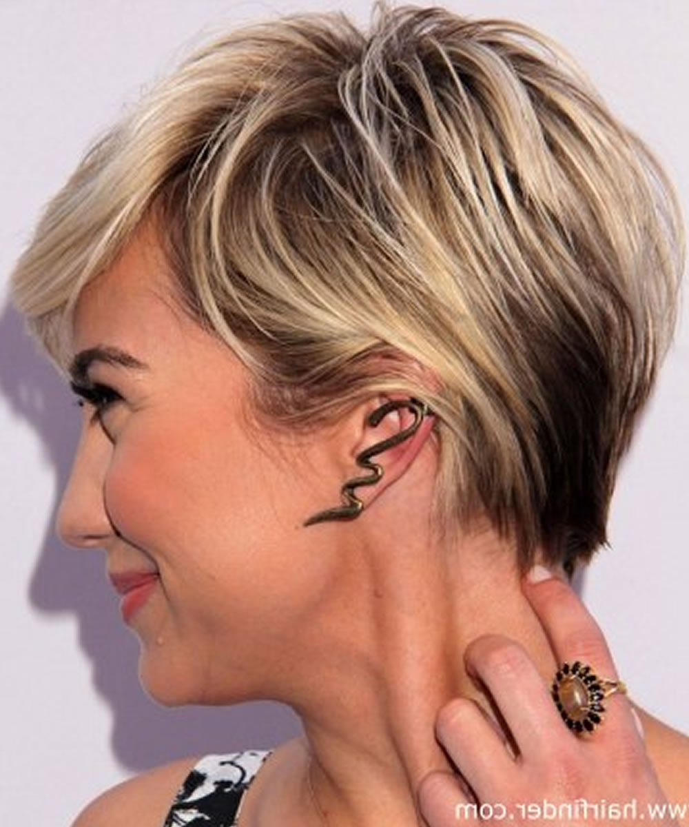 The Best Short Haircuts That Are The Most Trendy For Women For 2017 Inside Short Trendy Hairstyles For Women (View 11 of 25)