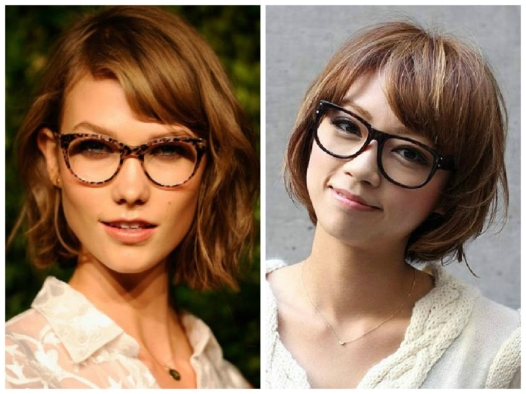 The Best Short Hairstyles To Wear With Glasses – Hair World Magazine For Short Hairstyles For Pointy Chins (View 4 of 25)