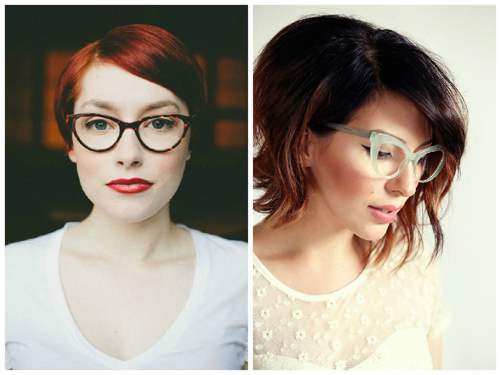The Best Short Hairstyles To Wear With Glasses – Hair World Magazine Regarding Short Haircuts With Bangs And Glasses (View 8 of 25)