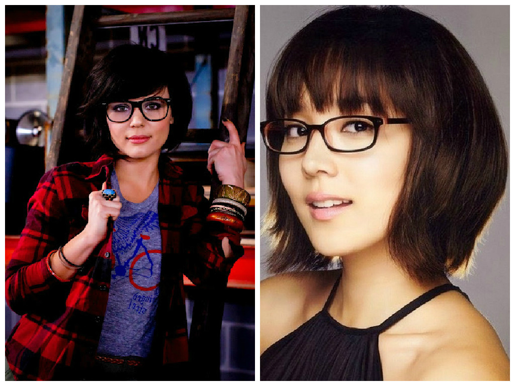 The Best Short Hairstyles To Wear With Glasses – Hair World Magazine With Short Haircuts With Bangs And Glasses (View 2 of 25)