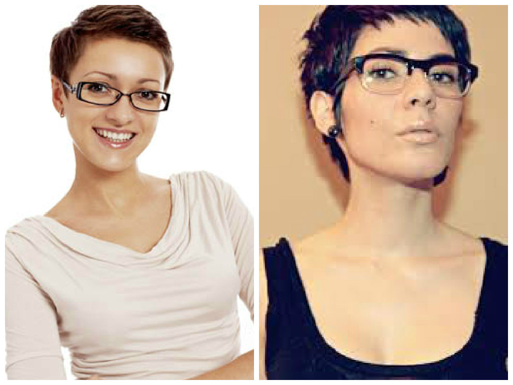 The Best Short Hairstyles To Wear With Glasses – Hair World Magazine Within Short Hairstyles For Round Faces And Glasses (View 16 of 25)
