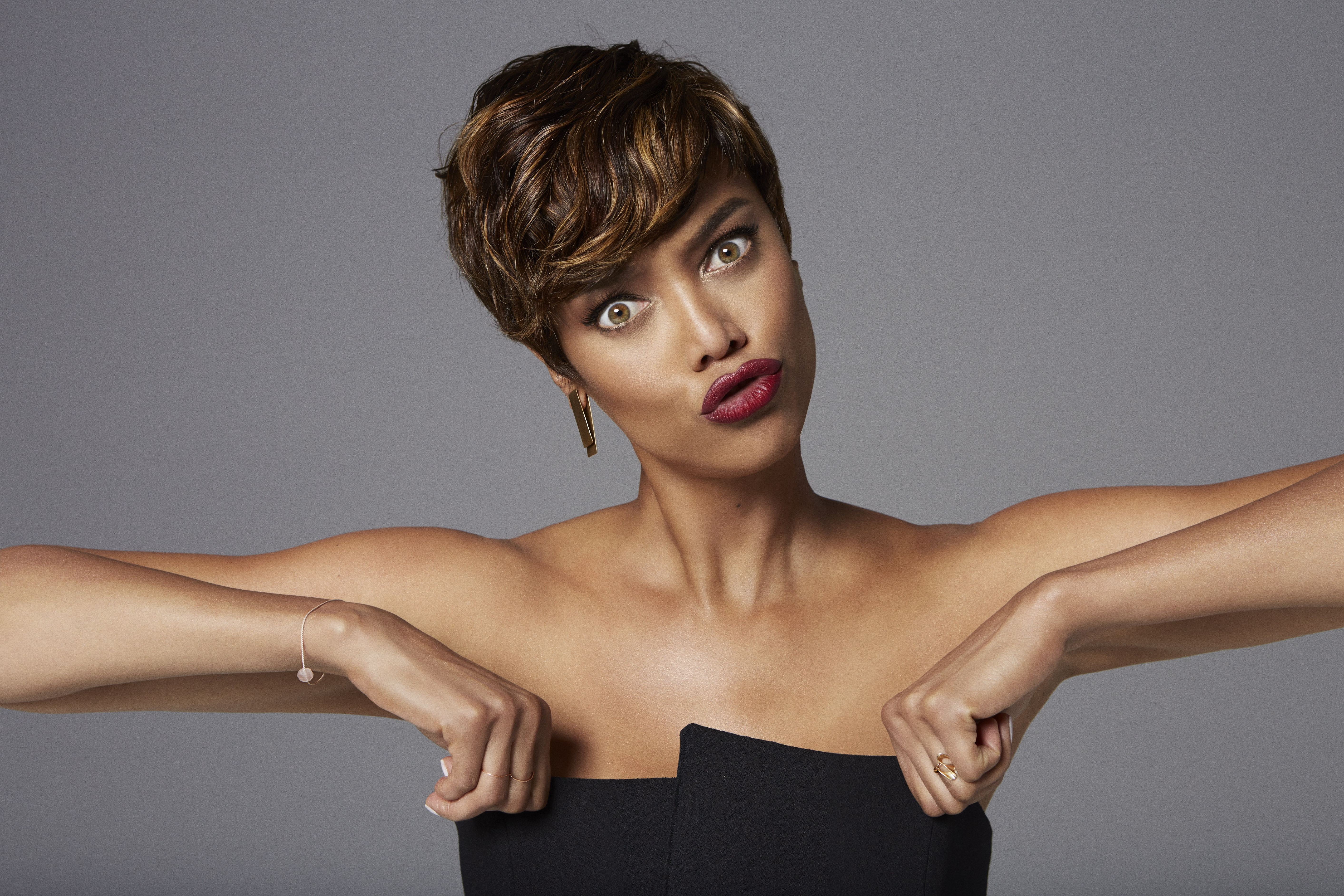 The Best Tyra Banks Hairstyles – Hair World Magazine Pertaining To Tyra Banks Short Hairstyles (View 5 of 25)