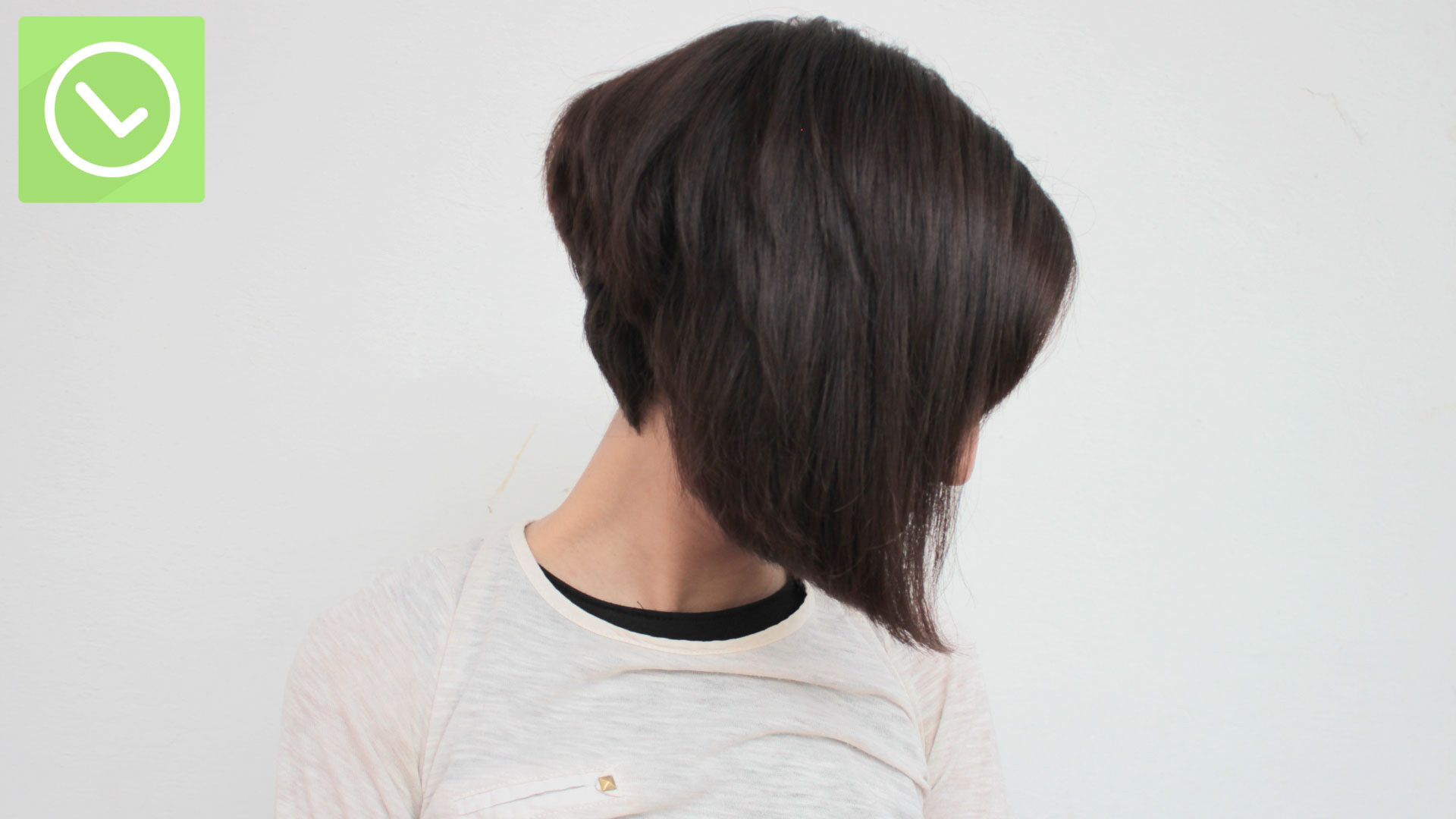 The Best Way To Cut A Bob – Wikihow With Inverted Brunette Bob Hairstyles With Messy Curls (View 23 of 25)
