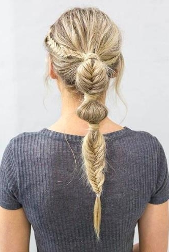 The Cool New Way To Fishtail Your Ponytail | Hair Extensions News Within Fishtail Ponytails With Hair Extensions (View 7 of 25)