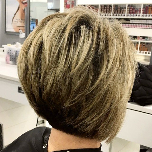 Featured Photo of Two Tone Stacked Pixie Bob Haircuts