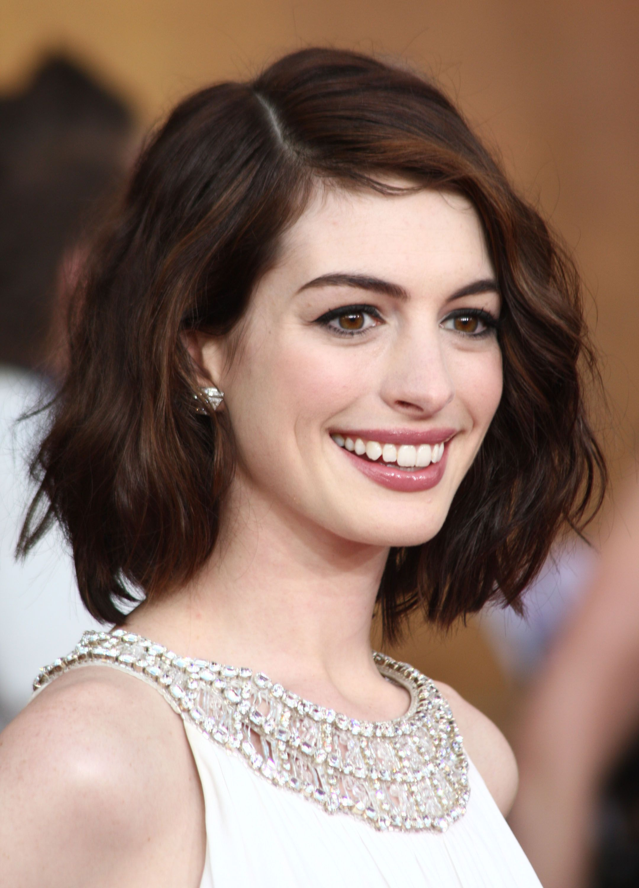 The Hottest Long Bob Hairstyles Of The Year | Fashion | Pinterest Regarding Anne Hathaway Short Haircuts (View 24 of 25)
