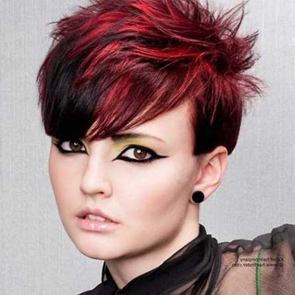 The Latest Trend In Color For Short Hair | Color For Short Hair Inside Cute Color For Short Hair (View 12 of 25)