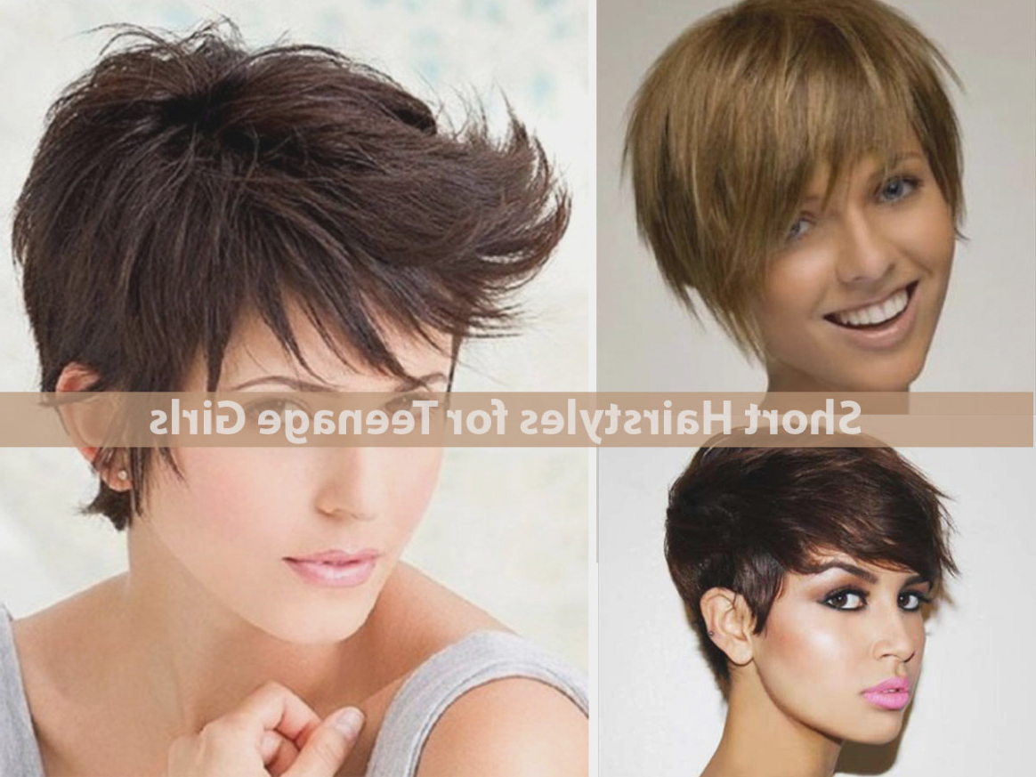 The Latest Trend In Hairstyles For | Latest Hairstyle Models With Regard To Short Hair Cuts For Teenage Girls (View 22 of 25)