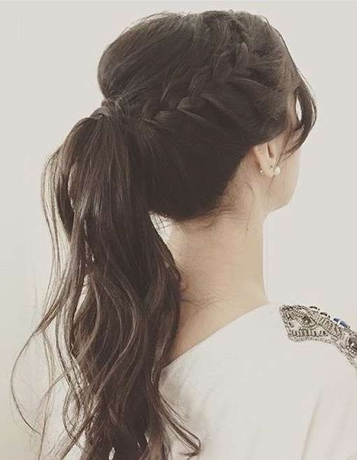 The Maze Runner Preferences – Como Te Recojen El Pelo | Cosas Within Braided Maze Low Ponytail Hairstyles (View 12 of 25)
