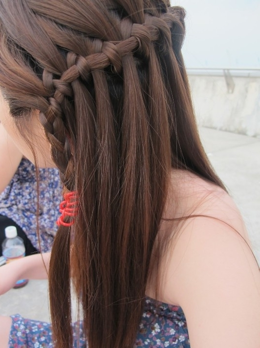 The Most Popular Braided Hairstyles For Women – Hairstyles Weekly Within Cascading Braided Ponytails (View 23 of 25)