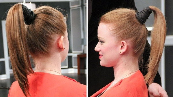 The Perfect Ponytail – Steven And Chris Intended For Straight Triple Threat Ponytail Hairstyles (View 20 of 25)