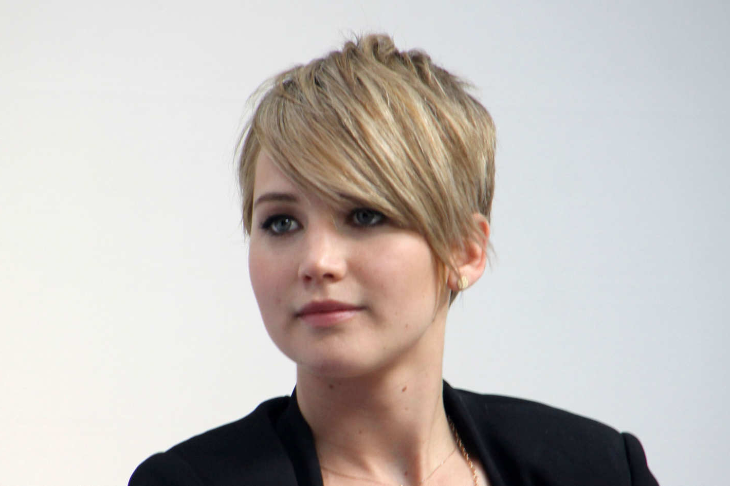 The Reason For Jennifer Lawrences Pixie Cut Is Simple Throughout Jennifer Lawrence Short Haircuts (View 23 of 25)