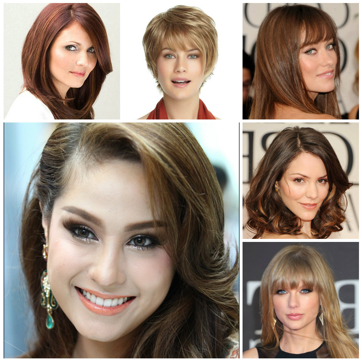 The Right Hairstyles For Your Face Shape 2016 | 2019 Haircuts With Oval Face Shape Short Haircuts (View 13 of 25)