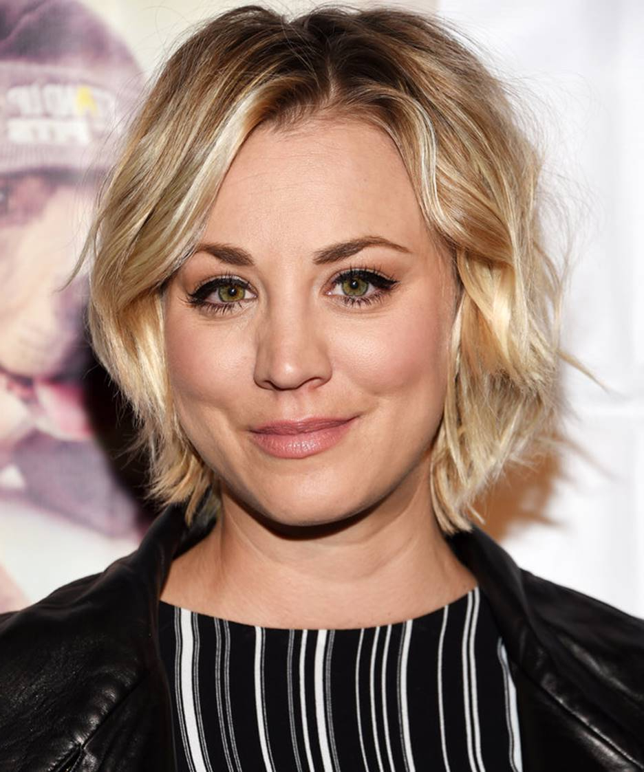 The Short (Cut) Comings Of Kaley Cuoco's Short Hair – Brainhz Inside Kaley Cuoco New Short Haircuts (View 14 of 25)