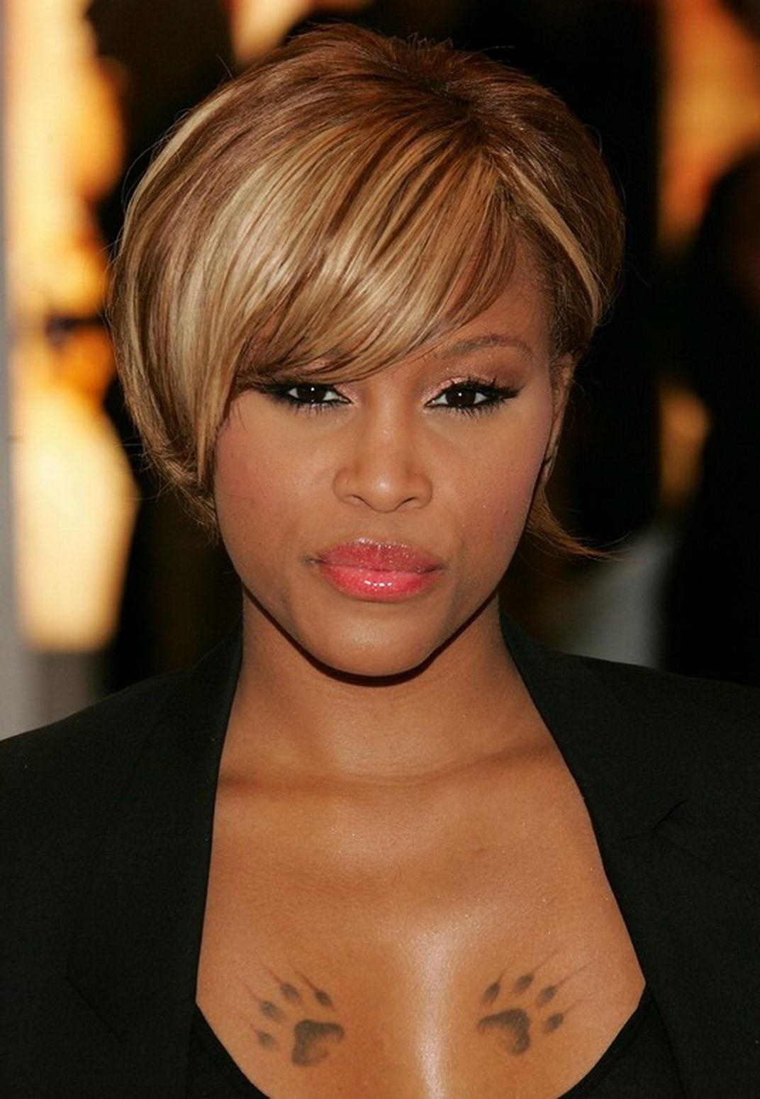 The Short Natural African American Hairstyles Throughout Short Hairstyles For African American Women With Thin Hair (View 9 of 25)