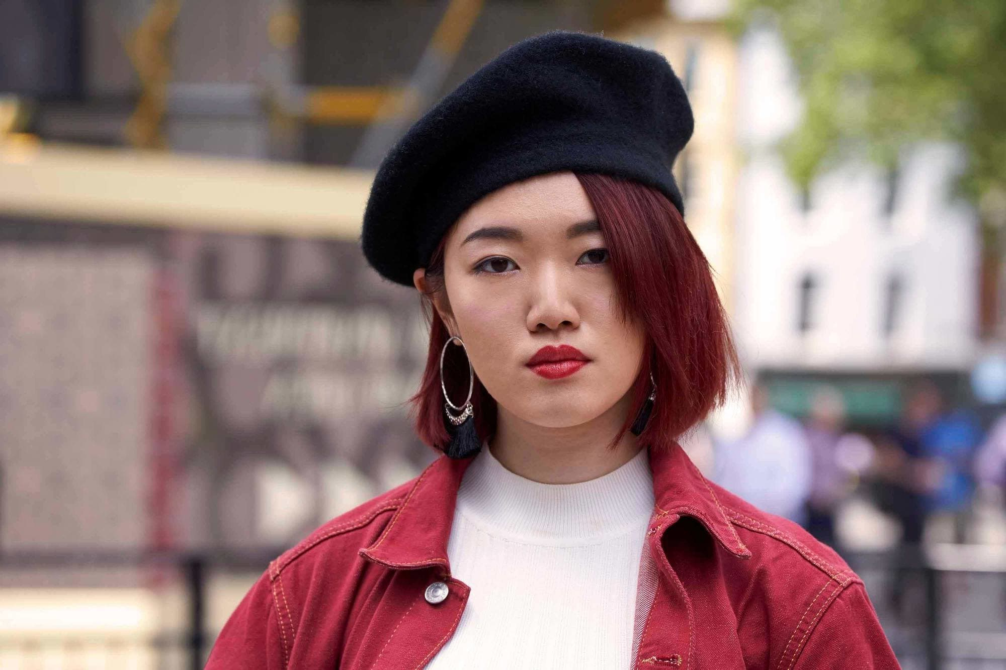 The Trendiest Korean Short Hairstyles To Get In On Within Burgundy Short Hairstyles (View 25 of 25)
