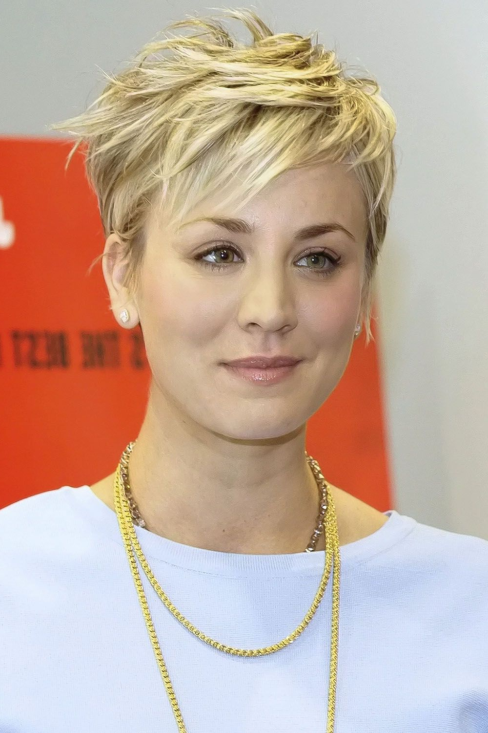 Thelist: The 10 Haircuts You'll See Everywhere This Spring | Saç Within Kaley Cuoco New Short Haircuts (View 4 of 25)
