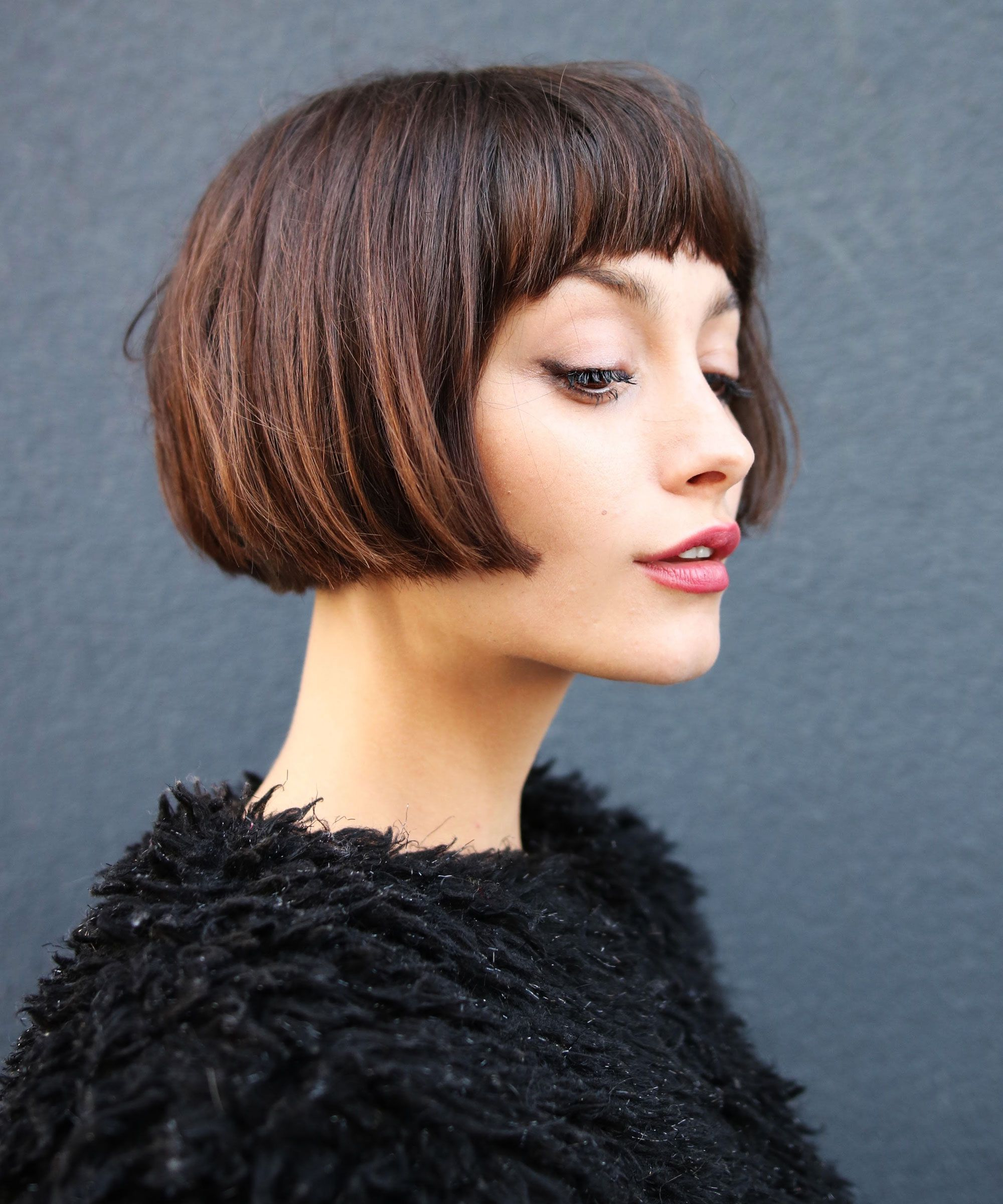 These Will Be Huge This Year Throughout Short Haircuts With Long Fringe (View 10 of 25)