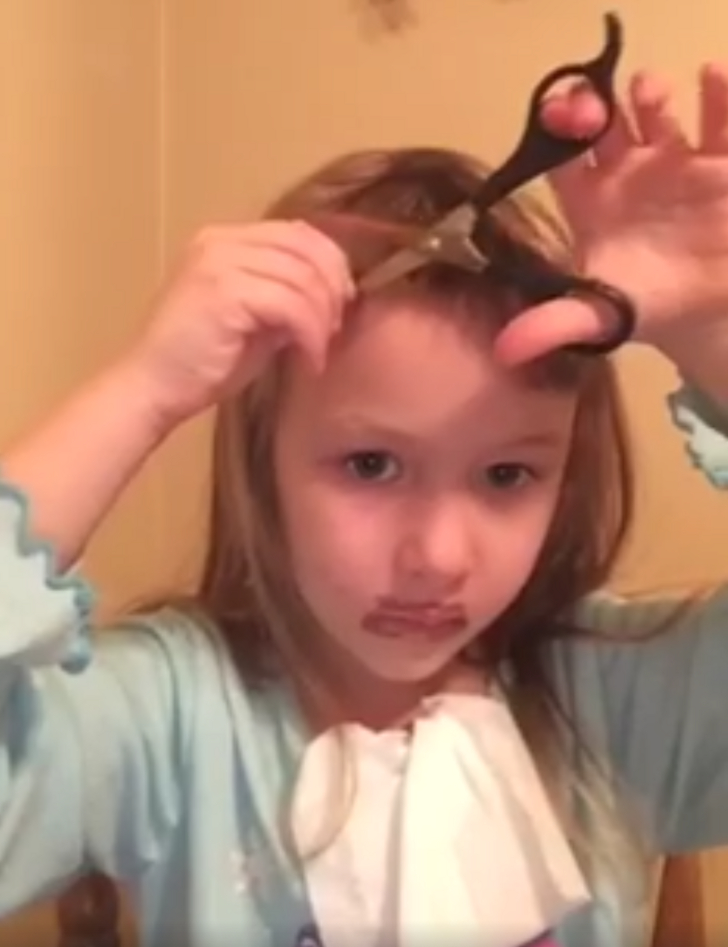 This Adorable Little Girl?s Youtube Tutorial Is The Cutest Thing We Within Young Girl Short Hairstyles (View 23 of 25)