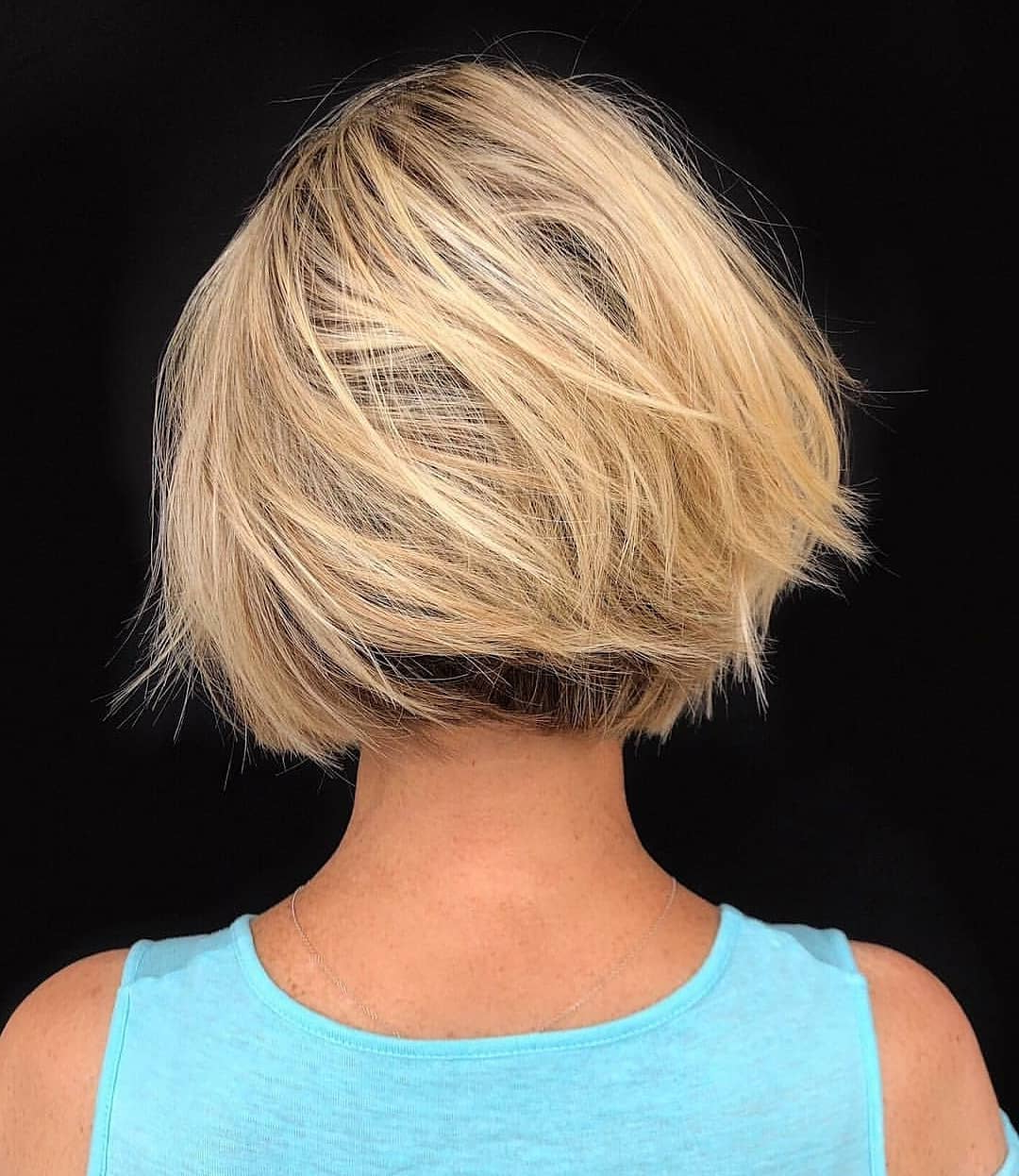 Top 10 Low Maintenance Short Bob Cuts For Thick Hair, Short With Low Maintenance Short Haircuts (View 8 of 25)